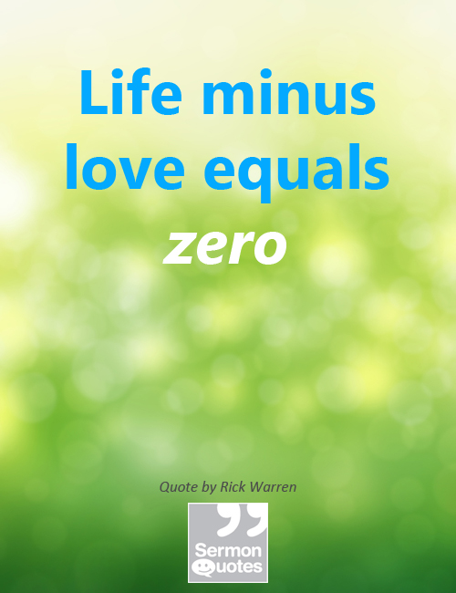 life-minus-love-equals-zero