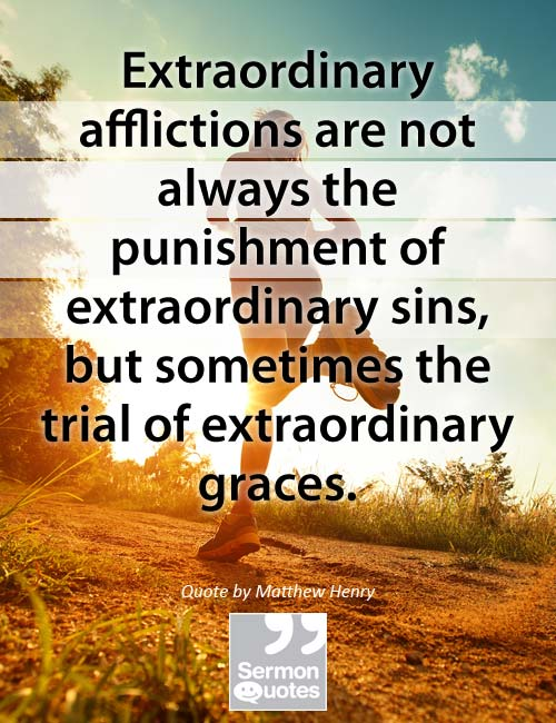 afflictions-not-punishment