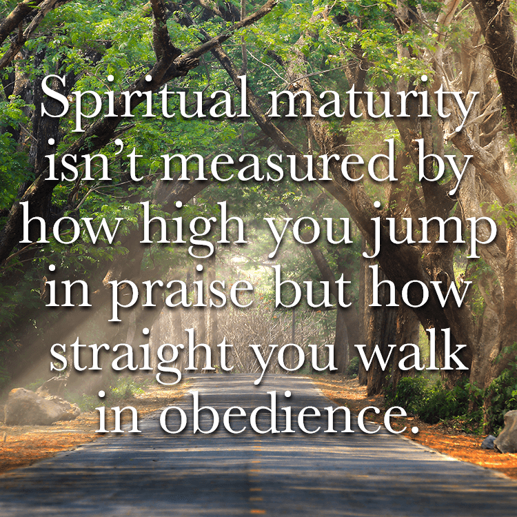 Bible Verse About Maturity